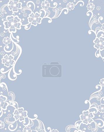 Template frame design for card.