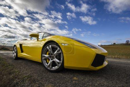 LEON SPAIN NOVEMBER15 A Lamborghini