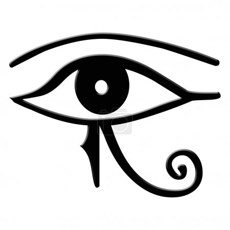 Eye of Horus - The Eye of Horus is an ancient Egyptian symbol of