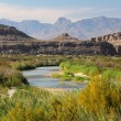 The scenic Rio Grande as viewed from Big Bend Nati...