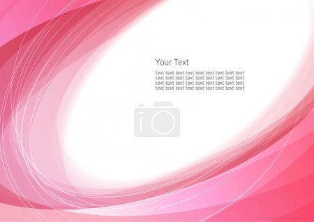Illustration for Abstract background with bright pink circles - Royalty Free Image