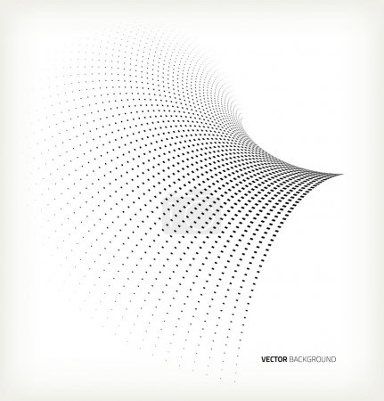 Vector halftone dots....