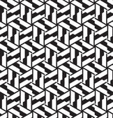 Seamless geometric pattern in op art design