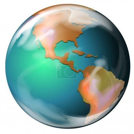 Earth - the third planet from the Sun
