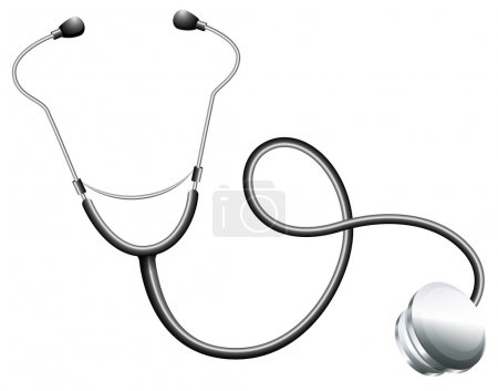 A doctor's stethoscope
