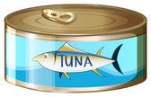 Eine Dose Thunfisch