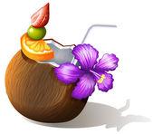 Osvěžující kokosová šťáva