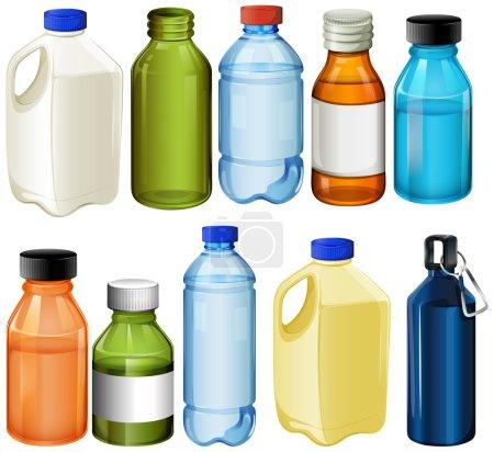 Different bottles