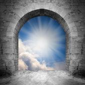 Cesta do nebe. Brána nebes