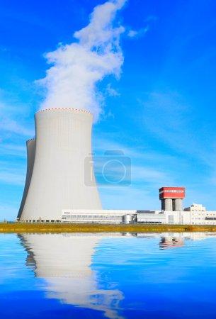 Nuclear power plant.