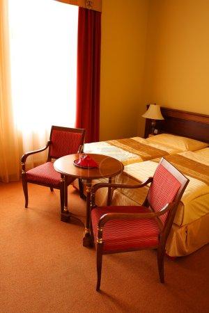 Bedroom interior - vintage style