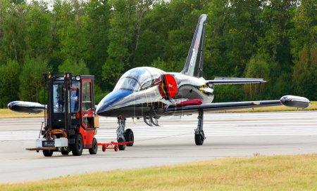 Aero L- 39 Albatros and maintenance vehicle