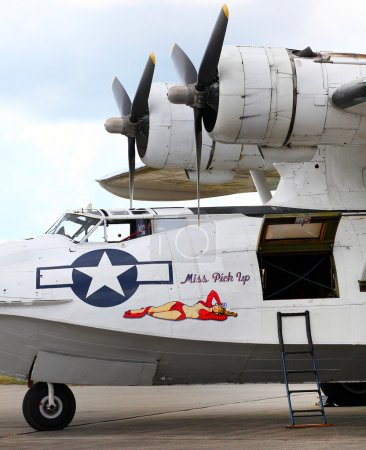 American rescue flying boat  Consolidated PBY-5A Catalina