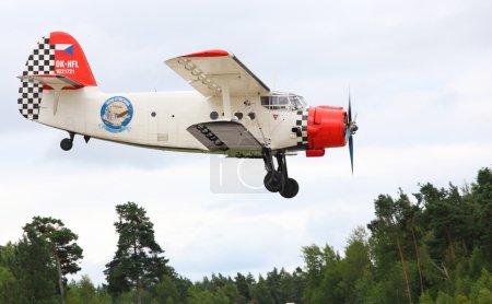Famous historic plane paradropper Antonov An-2