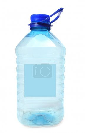 Plastic bottle with drinking water