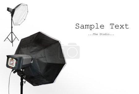 Photo pour Le Studio. Image avec pièce vide pour votre texte ou image . - image libre de droit