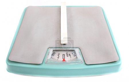 Retro style weighing machine