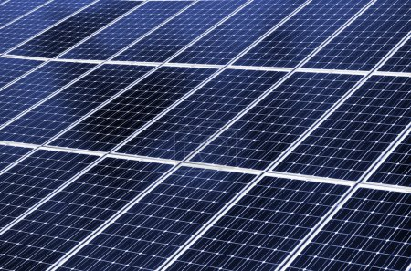 Photo for Close up of solar energy panel. - Royalty Free Image