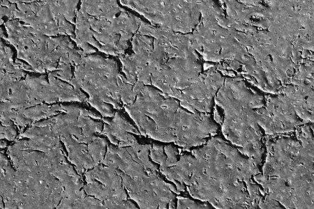 Photo for Asphalt with big cracks - background - Royalty Free Image