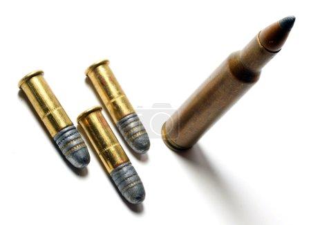Small-bore munition