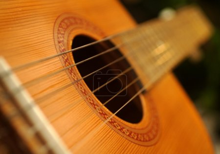 Photo for Guitar close up - Royalty Free Image