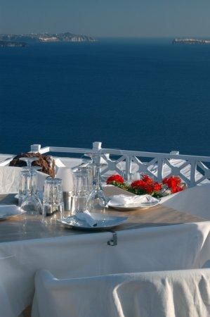 beautiful restaurant setting