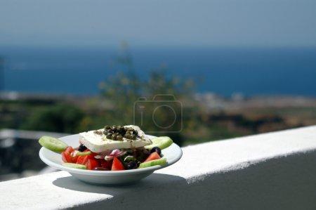 greek island scene
