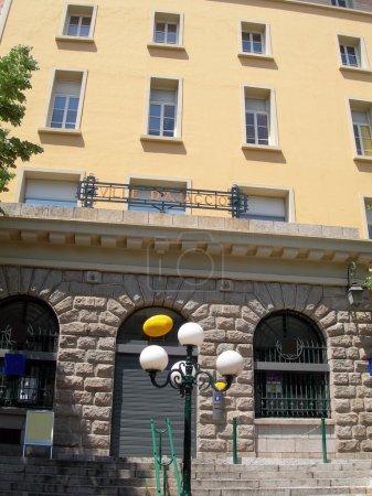 post office building ajaccio corsica france