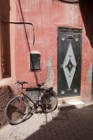 medina strassenszene casablanca marokko