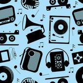 Musical seamless pattern