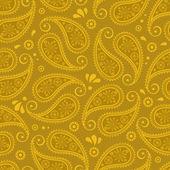 Oriental paisley seamless background