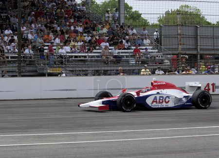 INDIANAPOLIS, IN - MAY 25: Indy car driver Jeff Simmons is running in the Indy 500 race May 25, 2008 in Indianapolis, IN
