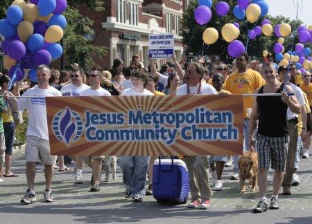 Jesus Metropolitan Community Church at Indy Pride