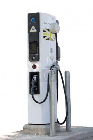 chargeur de voiture électrique découper