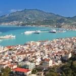 Zakynthos island at the ionian sea in Greece