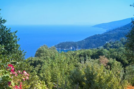 Landscape of Pelion in Greece