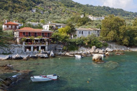 Fishing village at Damouchari of Pelion in Greece