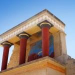 Knossos palace at Crete, Greece Knossos Palace, is...