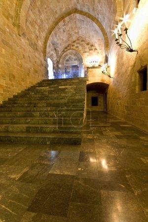 Palace of st John knights at Rhodes, Greece