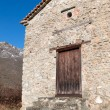 Old house at Prespes lakes area in Greece...