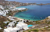 Beautiful beaches at Mykonos island