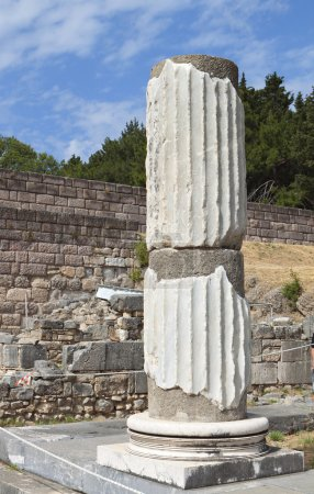 Ancient Asclepio at Kos island in Greece