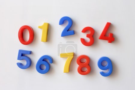 number fridge magnets