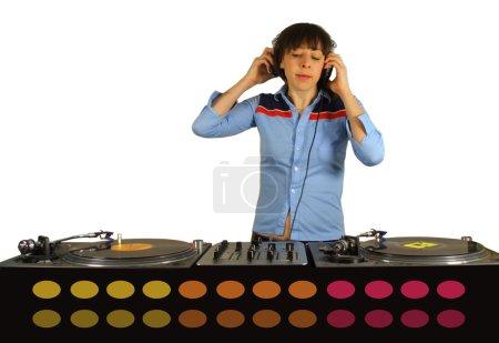 funky female dj