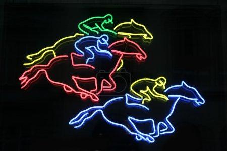 horses neon