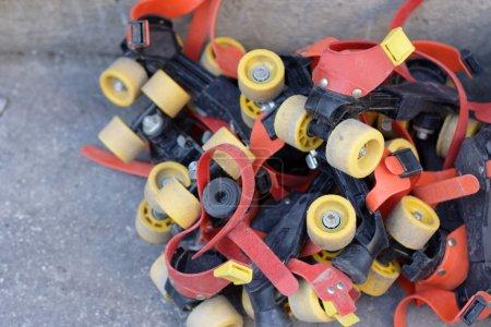 Pile of skates