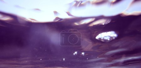 underwater puple