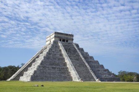 Mayan ruins at Chichen Itza, Mexico