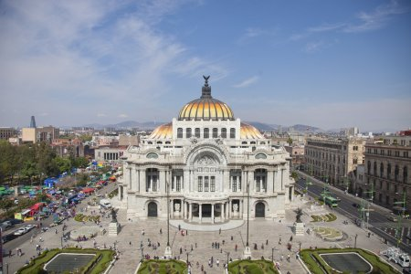 bellas artes, mexico DF