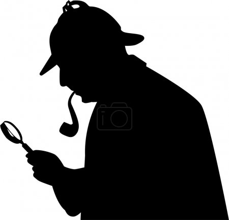 Illustration for Detective - Royalty Free Image